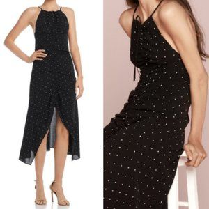 Alice McCall black polka dot Oscar Midi Dress